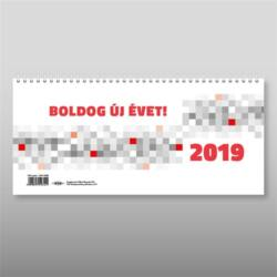 Asztali naptár 2019 nagy 28 x 13,5 cm