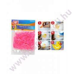 Vasalható gyöngy - neon rózsaszín, kb.500db