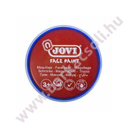 Jovi tégelyes arcfesték - piros 20 ml