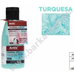 Artix Pouring (öntés) akrilfesték 120ml - Türkiz - PP637-06