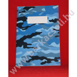 Füzet kisalakú 12-32 vonalas kék