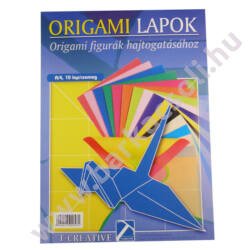 Origami lapok A/4, 10 lap/csomag